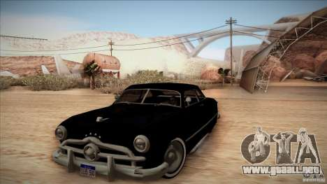 Ford Coupe Custom 1949 para GTA San Andreas
