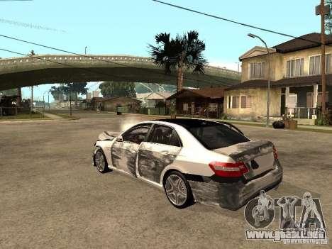 Mercedes-Bens e63 AMG para visión interna GTA San Andreas