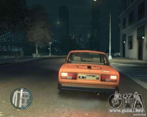 VAZ 2105 Taxi para GTA 4 left