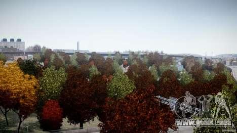Realistic trees 1.2 para GTA 4 quinta pantalla