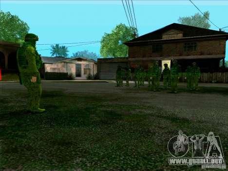 Camuflaje bosque Morpeh para GTA San Andreas quinta pantalla