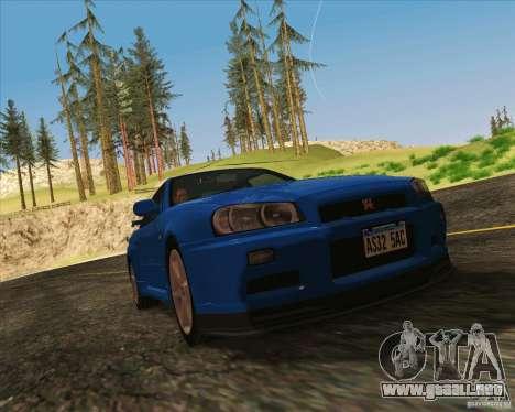 NFS The Run ENBSeries by Sankalol para GTA San Andreas sucesivamente de pantalla