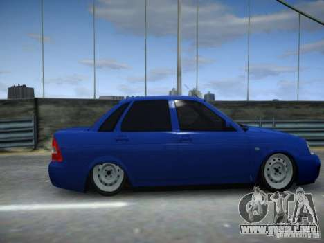 LADA Priora 2170 para GTA 4 Vista posterior izquierda