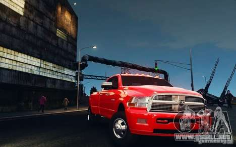 Dodge Ram 3500 Stock Final para GTA 4 vista interior