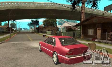 Mercedes-Benz S600 1999 para la visión correcta GTA San Andreas