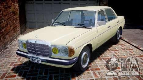 Mercedes-Benz 230E 1976 para GTA 4
