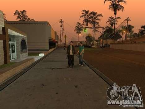 Los Santos Protagonists para GTA San Andreas tercera pantalla