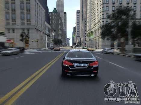 BMW 550i F10 para GTA 4 visión correcta