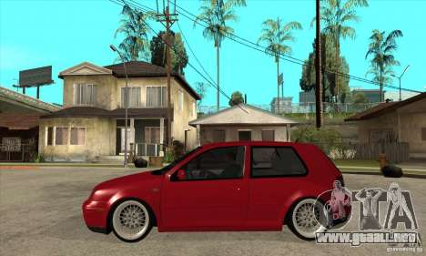 VW Golf 4 V6 Bolf para GTA San Andreas left