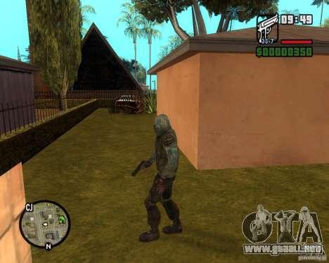 Cielo despejado acosador de para GTA San Andreas segunda pantalla