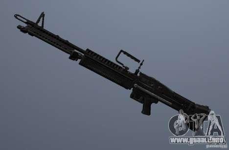 M60 para GTA San Andreas sucesivamente de pantalla