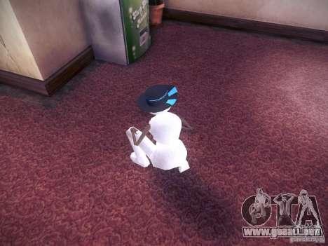 Muñeco de nieve para GTA San Andreas tercera pantalla