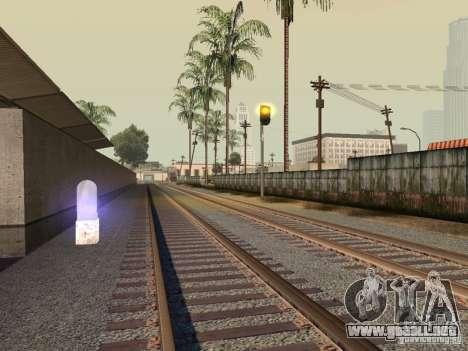 Luces de tráfico ferroviario para GTA San Andreas