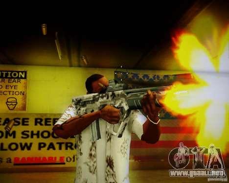 Tavor Tar-21 Digital para GTA San Andreas