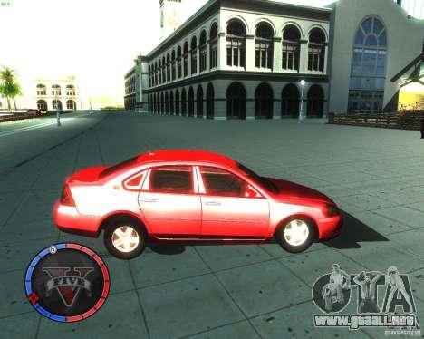Chevrolet Impala 2008 para GTA San Andreas left