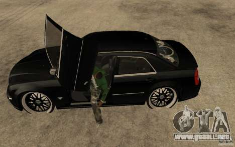 Chrysler 300C DUB para GTA San Andreas left