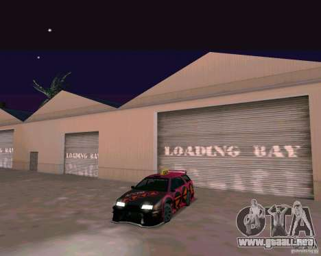 Stratum Tuned Taxi para GTA San Andreas left