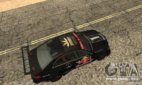 Mercedes-Benz E63 AMG DTM 2011 para GTA San Andreas left