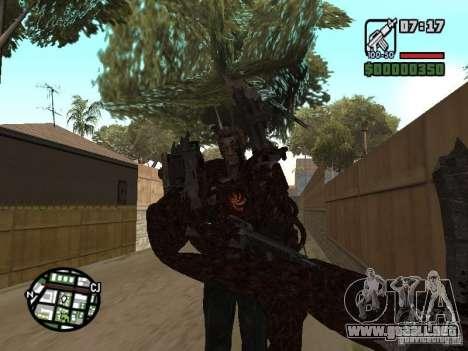 Wesker Ouroboros para GTA San Andreas quinta pantalla