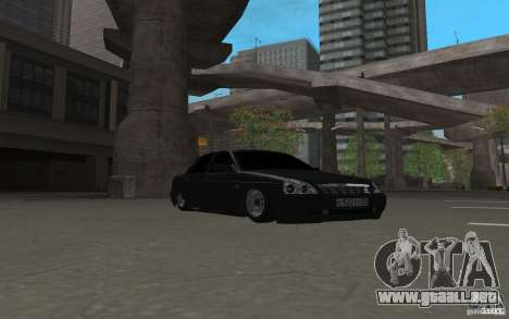 LADA priora luz tuning v. 2 para GTA San Andreas left