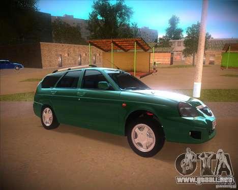Vaz-2171 Restajl para GTA San Andreas left