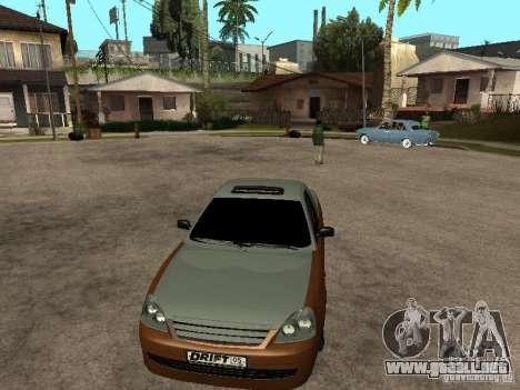 LADA 2170 Pickup para GTA San Andreas vista posterior izquierda