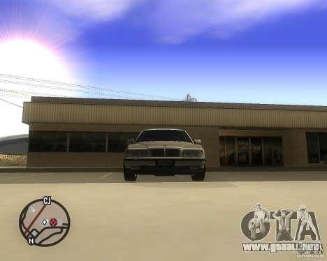 BMW 750il Limuzin para la visión correcta GTA San Andreas