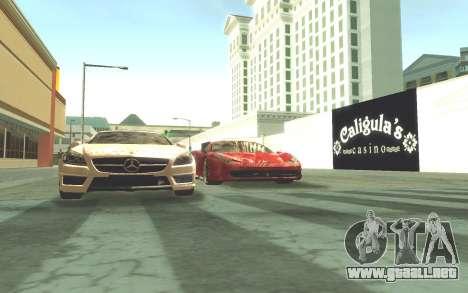 ENB v3.0 by Tinrion para GTA San Andreas segunda pantalla
