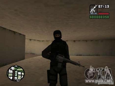 Umbrella soldier para GTA San Andreas sucesivamente de pantalla