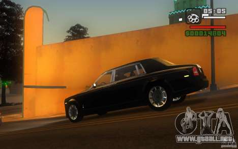Rolls-Royce Phantom EWB para GTA San Andreas left