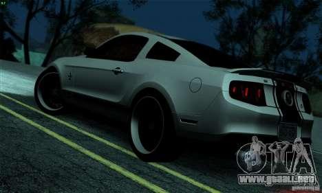 SA gline v4.0 Screen Edition para GTA San Andreas segunda pantalla