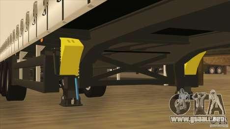 SchmitZ Cargobull para la vista superior GTA San Andreas