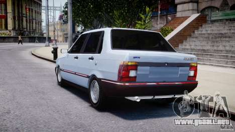 Fiat Duna 1.6 SCL [Beta] para GTA 4 Vista posterior izquierda