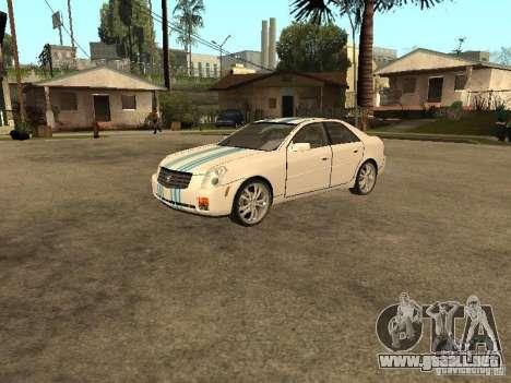 Cadillac CTS para la vista superior GTA San Andreas