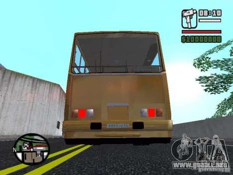 IKARUS 260.37 para la vista superior GTA San Andreas