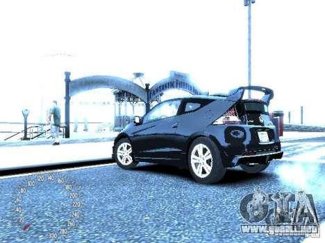Honda Mugen CR-Z para GTA 4 Vista posterior izquierda