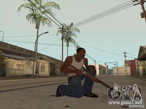 Nuevo Pack de armas nacionales para GTA San Andreas tercera pantalla