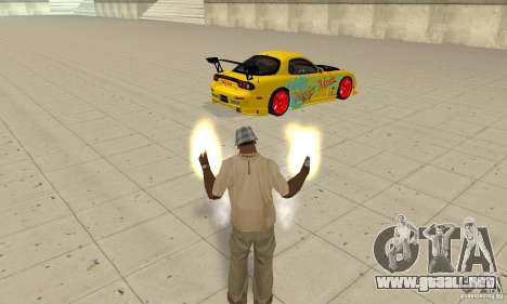 Capacidad sobrenatural de CJ-me para GTA San Andreas tercera pantalla