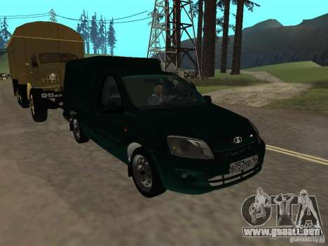 VAZ 2190 talón para GTA San Andreas