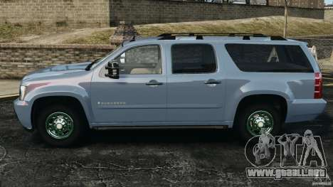 Chevrolet Suburban GMT900 2008 v1.0 para GTA 4 left