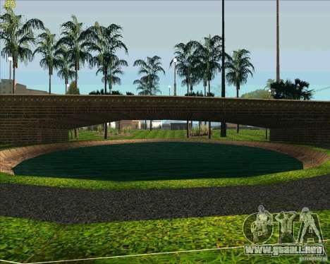 El nuevo parque de Los Santos para GTA San Andreas sucesivamente de pantalla