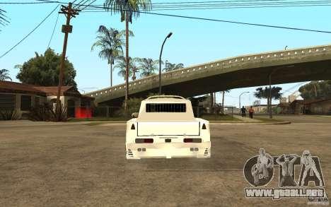IZH 27151 para GTA San Andreas vista posterior izquierda