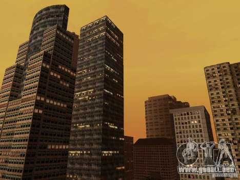 Nueva textura de rascacielos Downtown para GTA San Andreas segunda pantalla