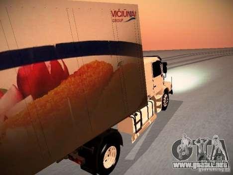 Scania T112 para la visión correcta GTA San Andreas