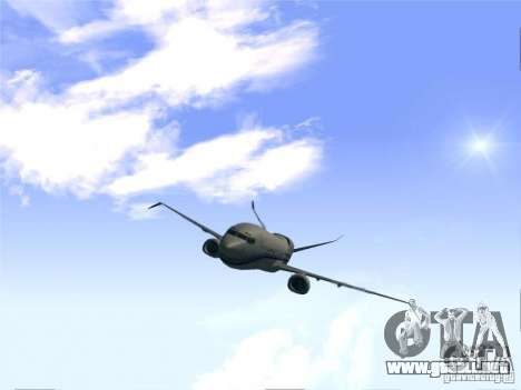 Boeing 737 Iron Man Bussines Jet para la visión correcta GTA San Andreas