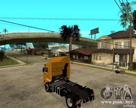 KAMAZ 5460M TAI versión 1.5 para GTA San Andreas left