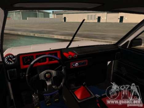 Tofas Sahin DRIFT para vista lateral GTA San Andreas