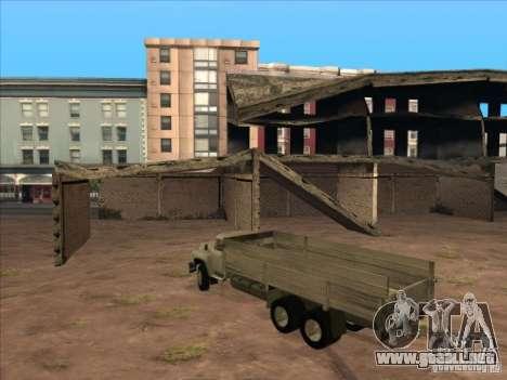 ZIL-133GÂ para visión interna GTA San Andreas