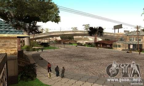 Grove Street 2012 V1.0 para GTA San Andreas
