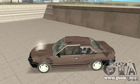 Volkswagen Santana GLS 1989 para vista inferior GTA San Andreas
